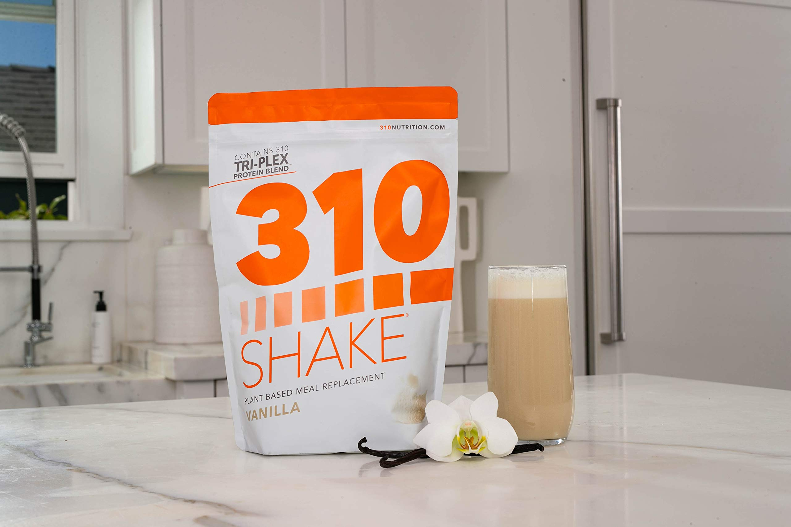 Vanilla Meal Replacement | 310 Shake Protein Powder is Gluten and Dairy Free, Soy Protein and Sugar Free | Includes Free Recipe eBook | 28 Servings by 310 Nutrition