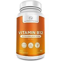 Vitamina B12 Metilcobalamina 1000mcg 365 Tabletas (Suministro