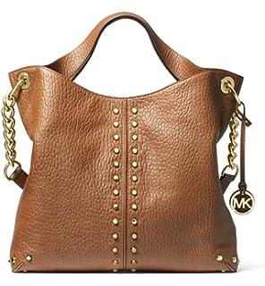 06616fa2d944 MICHAEL Michael Kors Uptown Astor Pebbled Leather Shoulder Bag in Walnut