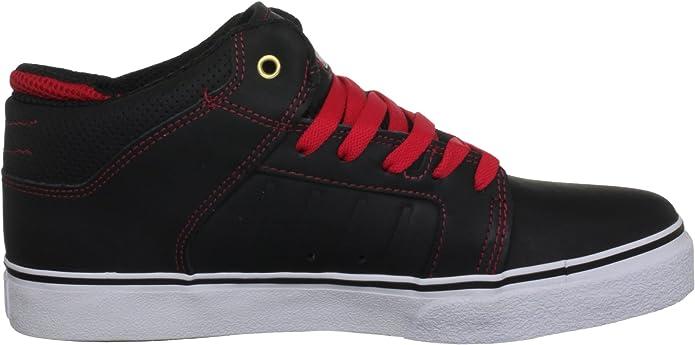 Etnies sheckler 5 Lx Black//red Baskets//chaussures noir//rouge
