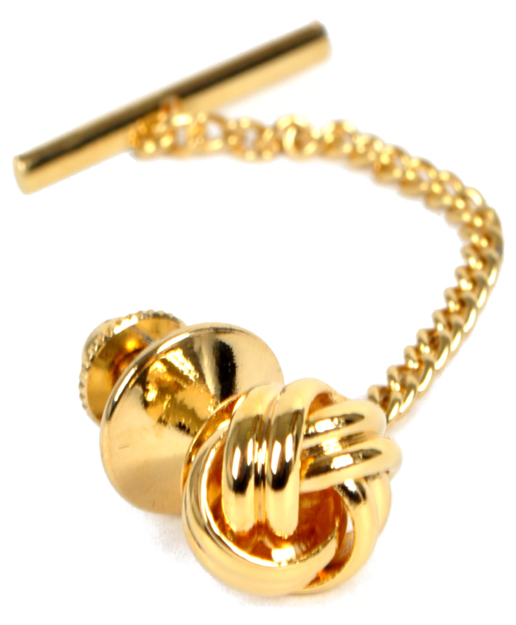 boxed-gifts Sailor's Knot Premium Tie Tack (Gold)