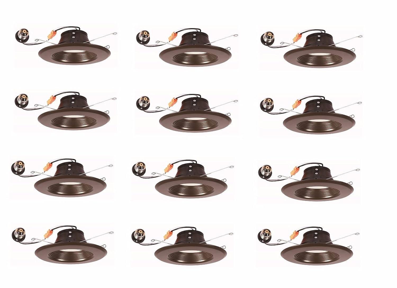 5 Years Warranty Bronze 12 Pack ES 3000K 120/° Input Voltage 120V 13W ETL Elitco Lighting R41330KBZ-12PK led-Household-Light-Bulbs 4 RETROFIT CRI90 65W Equivalent DIMMABLE LM800 50000HRS