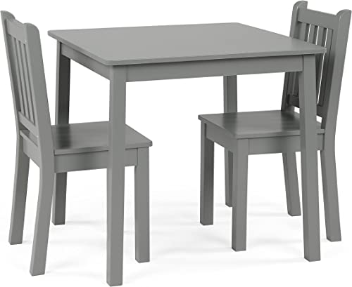 Humble Crew Kids Wood Table 2 Chairs Set 23 tall