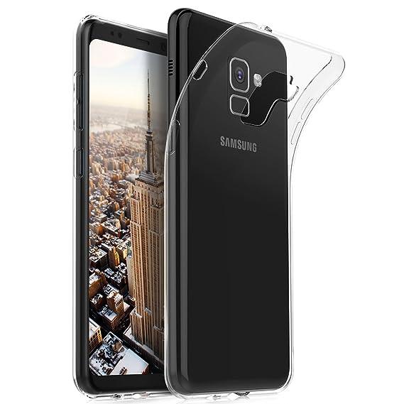 size 40 cd2d5 186da Amazon.com: Samsung Galaxy A8+ case, KuGi Ultra-Thin Soft TPU Gel ...