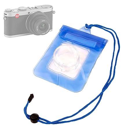 DURAGADGET Funda Sumergible Azul para Cámara Leica X1: Amazon.es ...