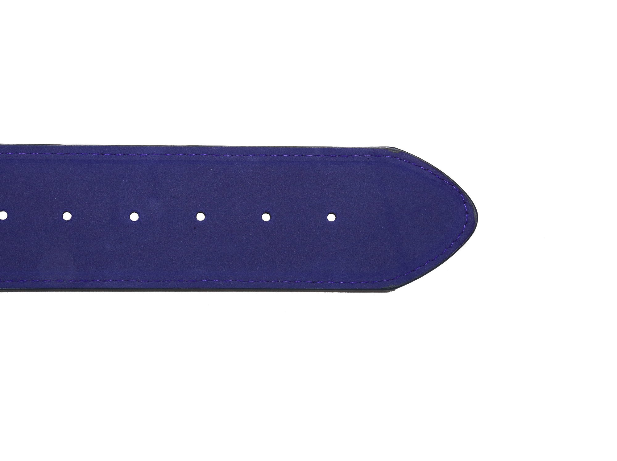 Modeway Women 2'' Wide Suede Leather Silver Square Buckle Adjustable Waist Belts (S-M, Navy-4#) by Modeway (Image #2)