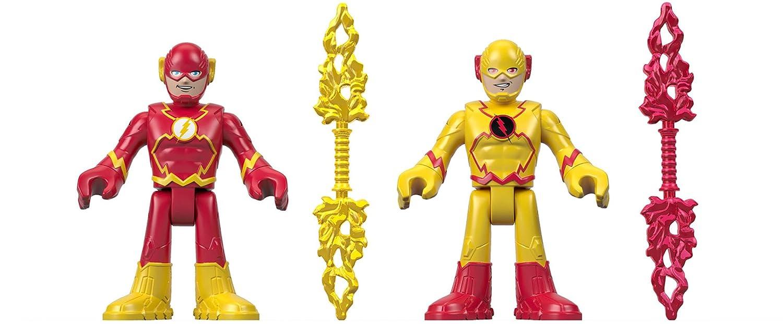 Fisher-Price Imaginext DC Super Friends, Flash & Reverse Flash Mattel FBG21