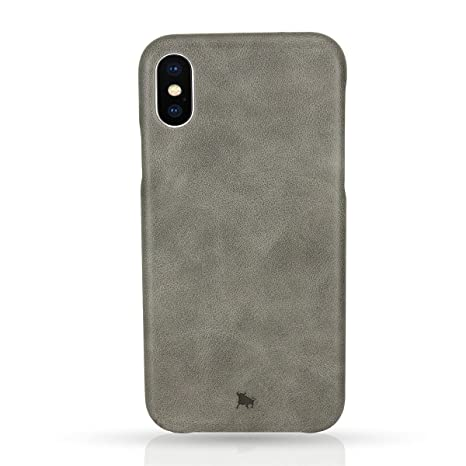 custodia iphone x pelle vera
