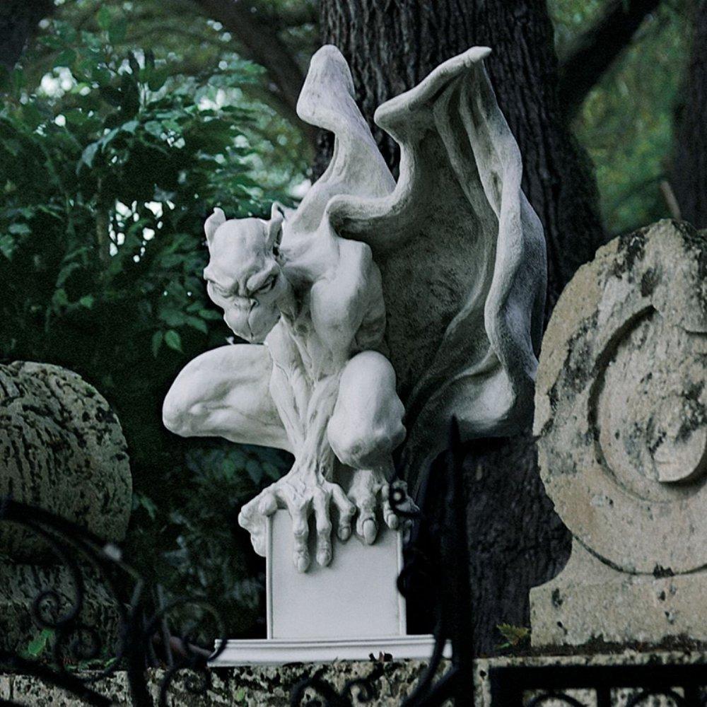 Amazon.com : Design Toscano Draga The Gargoyle Vampire Statue Size: Large :  Outdoor Statues : Garden U0026 Outdoor