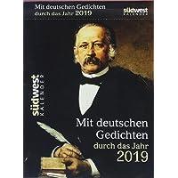 Mit deutschen Gedichten durch das Jahr 2019 Tagesabreißkalender