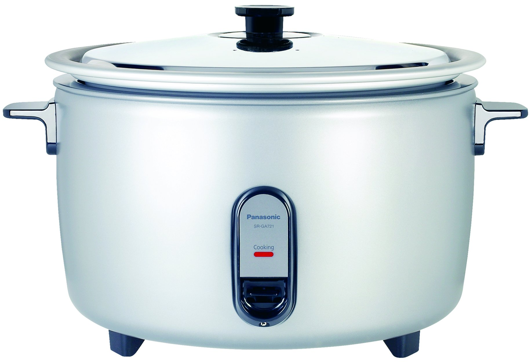 Panasonic SR-GA721L 40 Cup Commercial Rice Cooker, Silver