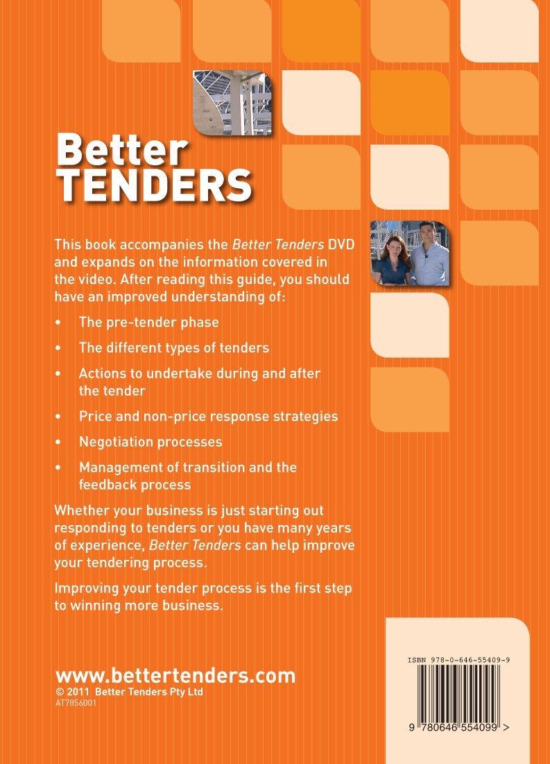 Better Tenders: Simon Kay: 9780646554099: Amazon com: Books