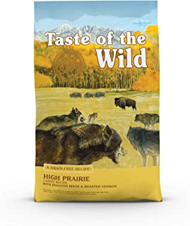 product image for Taste of the Wild High Prairie Grain-Free Roasted Bison & Venison Dry Dog Food, 5 lbs.
