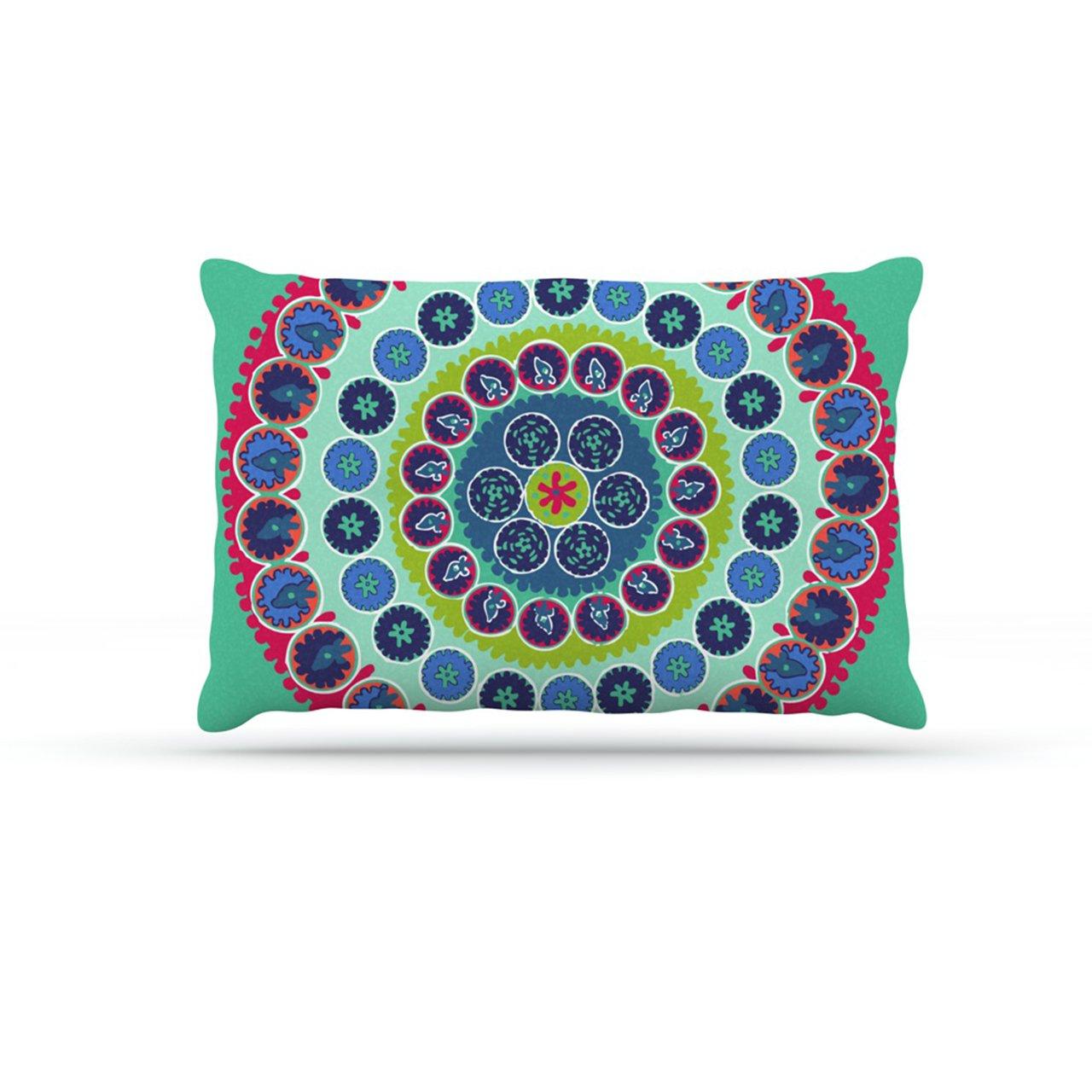 Kess InHouse Laura Nicholson Surkhandarya  Fleece Dog Bed, 50 by 60 , Multicolor