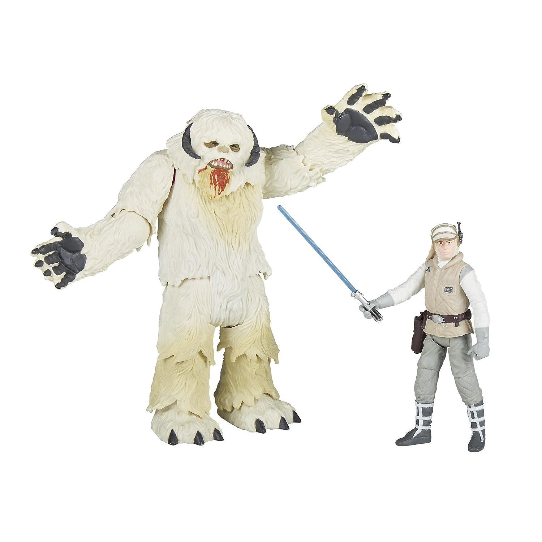 Figure Hasbro E1689 Hoth Star Wars Force Link 2.0 Wampa and Luke Skywalker