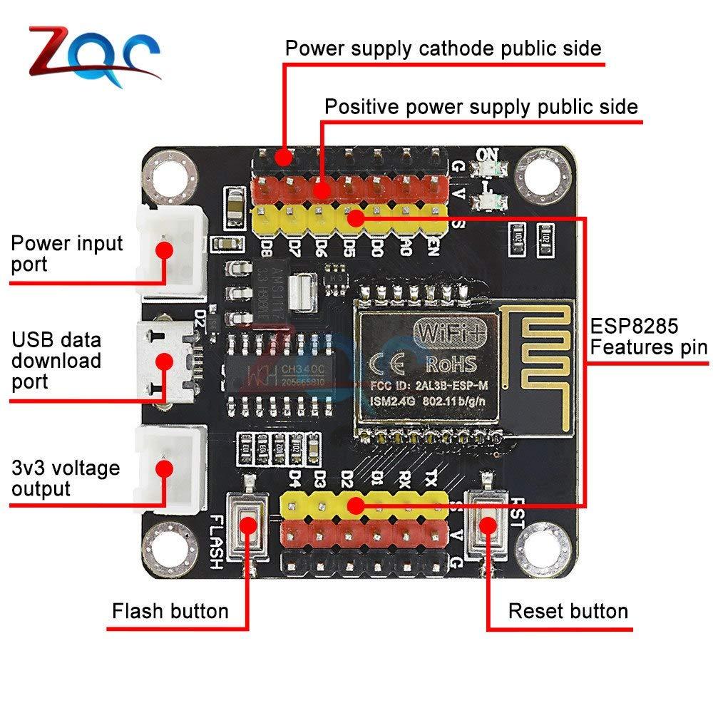 Esp8285 esp-m1 esp-m2 esp-m3 8 Mbit Flash Wifi Wlan Module esp8266 Arduino SDK