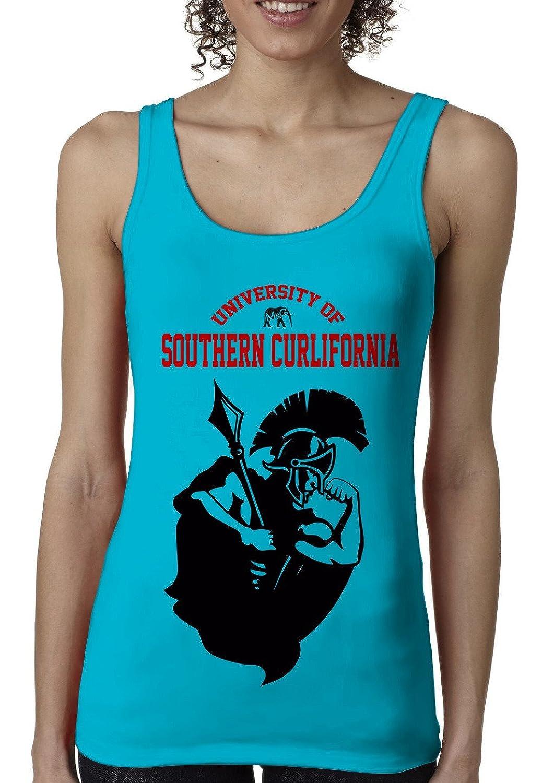Bro Science Women's University of Southern Curlifornia Tank-top