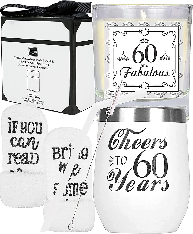 60th Birthday Gift Present Idea Girls Mum Her 1959 Women 60 White Sock Vintage