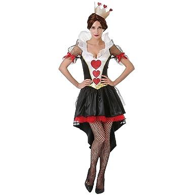 b6f09de785 Amazon.com  Boo Inc. Queen of Hearts Halloween Costume for Women ...
