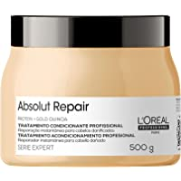 Máscara de Tratamento Reparadora Absolut Repair Gold Quinoa Serie Expert 500G, L´Oreal Professionnel Paris