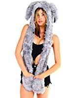 iHeartRaves Rabbit Rave Spirit Animal Furry Hood