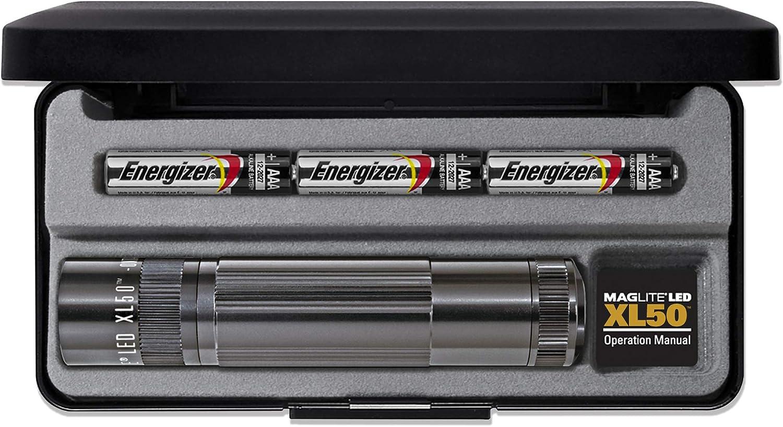 mag-Lite XL50 LED Presentation Box - Farol de Mano: Amazon.es: Deportes y aire libre