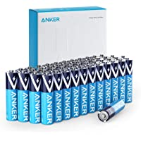 Anker Alkaline AAA Batteries (48-Pack), Long-Lasting & Leak-Proof with PowerLock Technology, High Capacity Triple A…