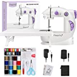 Magicfly Mini Sewing Machine for Beginner, Dual Speed Portable Sewing Machine Machine with Extension Table, Light, Sewing Kit