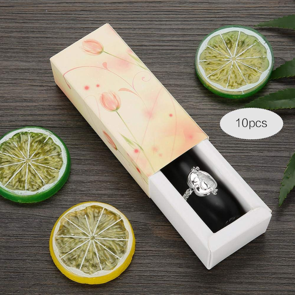 Amazon.com: Caja de papel para pintalabios, 10 unidades ...