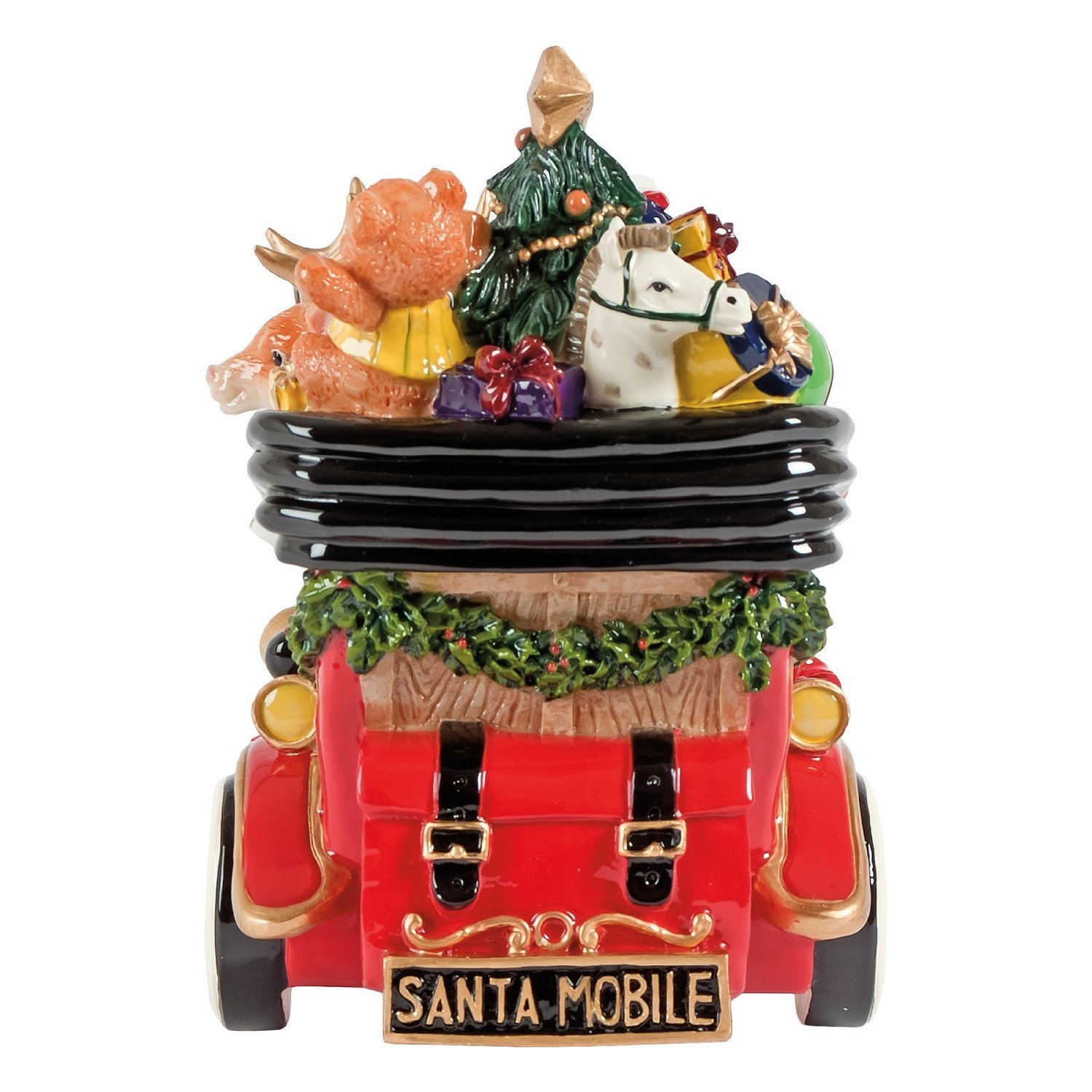 amazon com santa classic car u0027we wish you a merry christmas