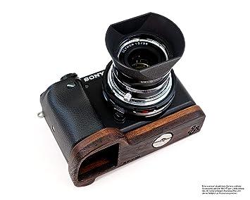 JB Camera Designs USA - Empuñadura de Madera de Nogal para cámara ...
