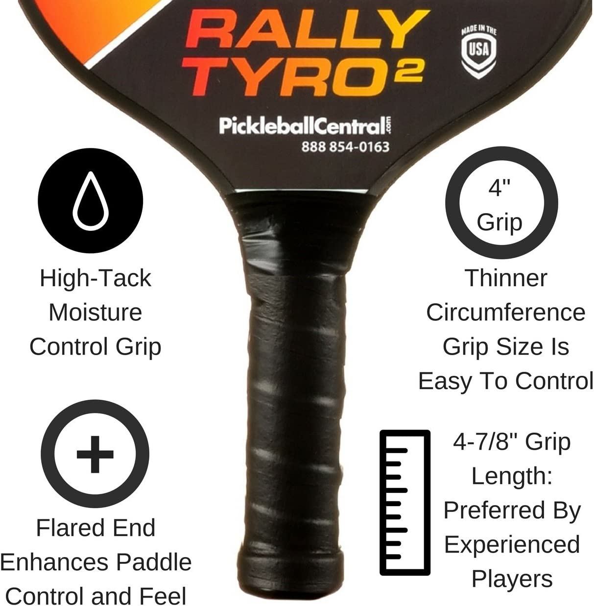 Amazon.com: Rally Tyro 2 Pickleball, portátil red y juego de ...