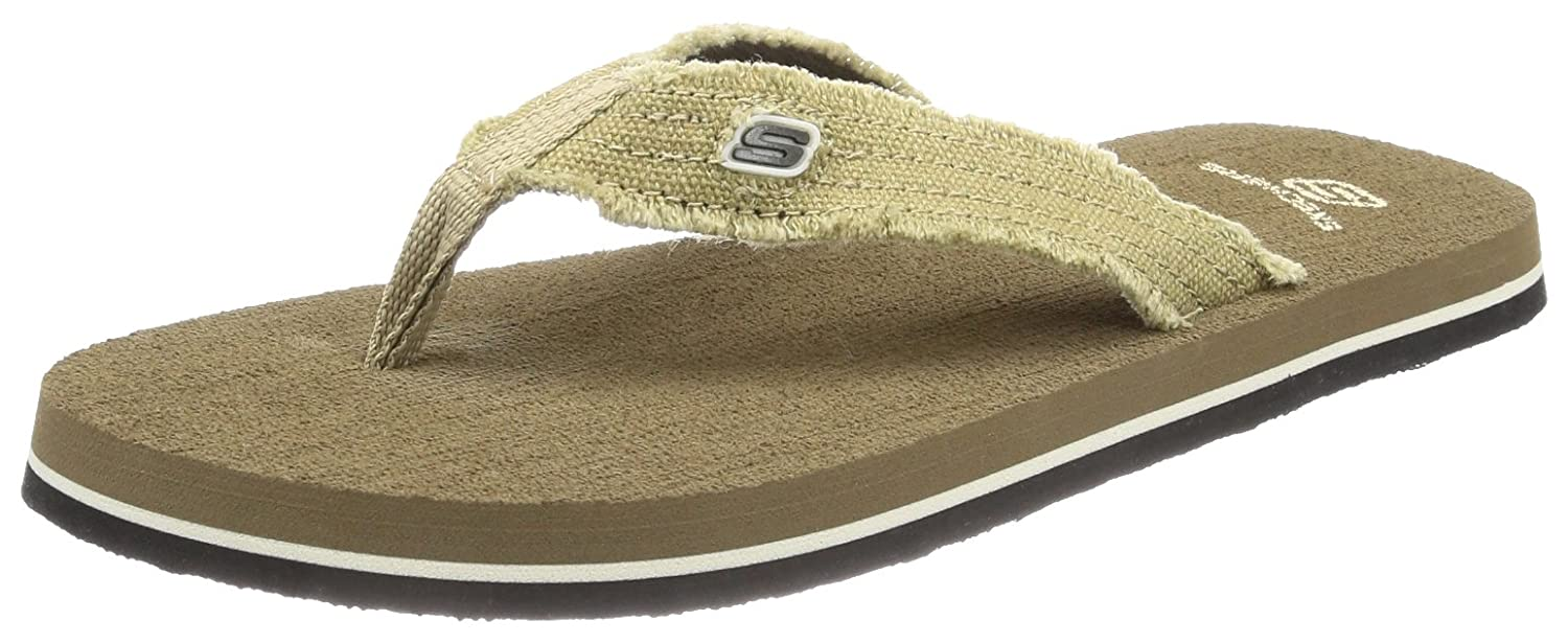 Skechers Tantric  92035L - Chanclas para niño color marrón talla 28.5 92035L_BRN- 28.5