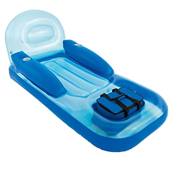 Delicieux Inflatable Pool Lounge With Cooler