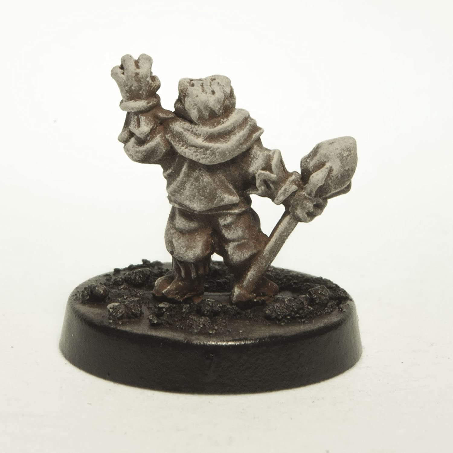 Made in US Stonehaven Miniatures for 28mm Scale Table Top War Games Stonehaven Grippli Ambassador Miniature Figure