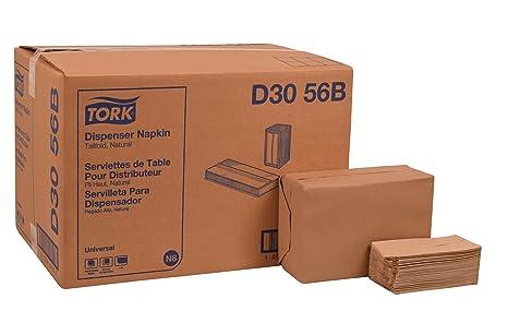 """Tork D3056B Universal Tallfold Dispenser Napkin, 1-Ply, 13.5"""" Length x 6.0"""""""