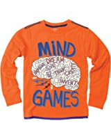 Wes and Willy Big Boys' L/S Mind Games T-Shirt