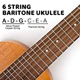 Guitalele 31 inch Guitarlele Mini Travel Guitar