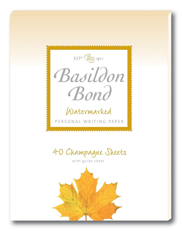 Basildon Bond Duke 137/x 178/mm bloc-notes avec 40/feuilles/ /Bleu
