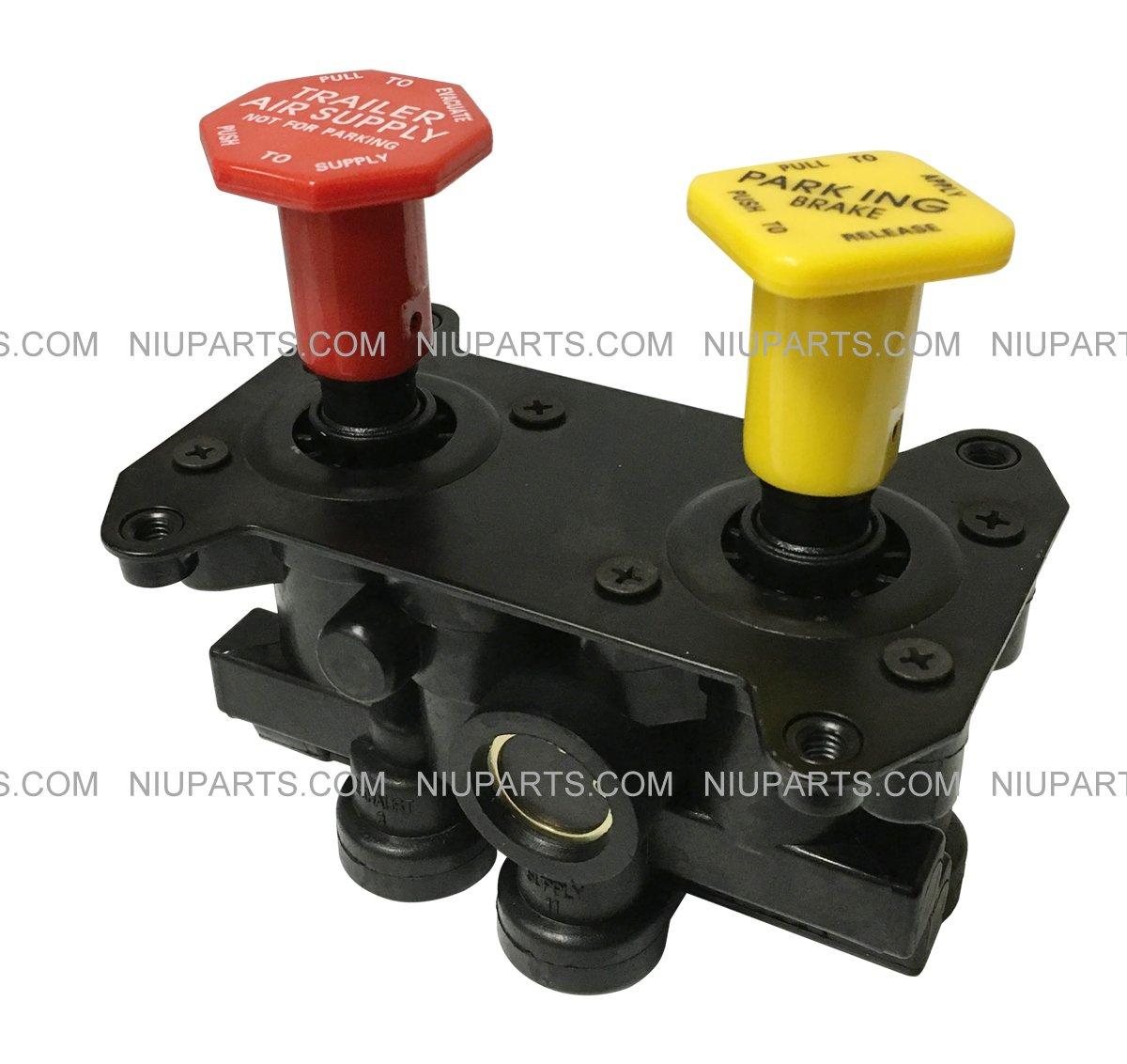 MV-3 Dash Control Brake Valve 800519, 800529, 065186 for Volvo Western- NIUPARTS