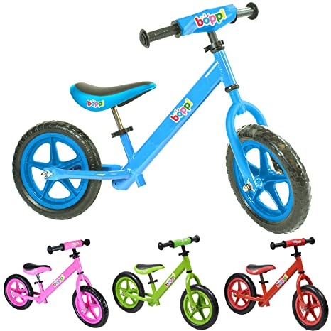 boppi® Bicicleta sin Pedales de Metal para niños DE 2-5 Anos - Azul