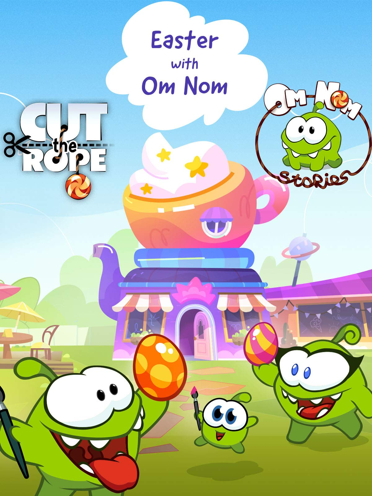 Cut The Rope: Om Nom Stories - Easter With Nom