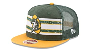 55c76549 ... cheapest green bay packers new era vintage throwback stripe 9fifty snapback  hat cap bfa95 0e787