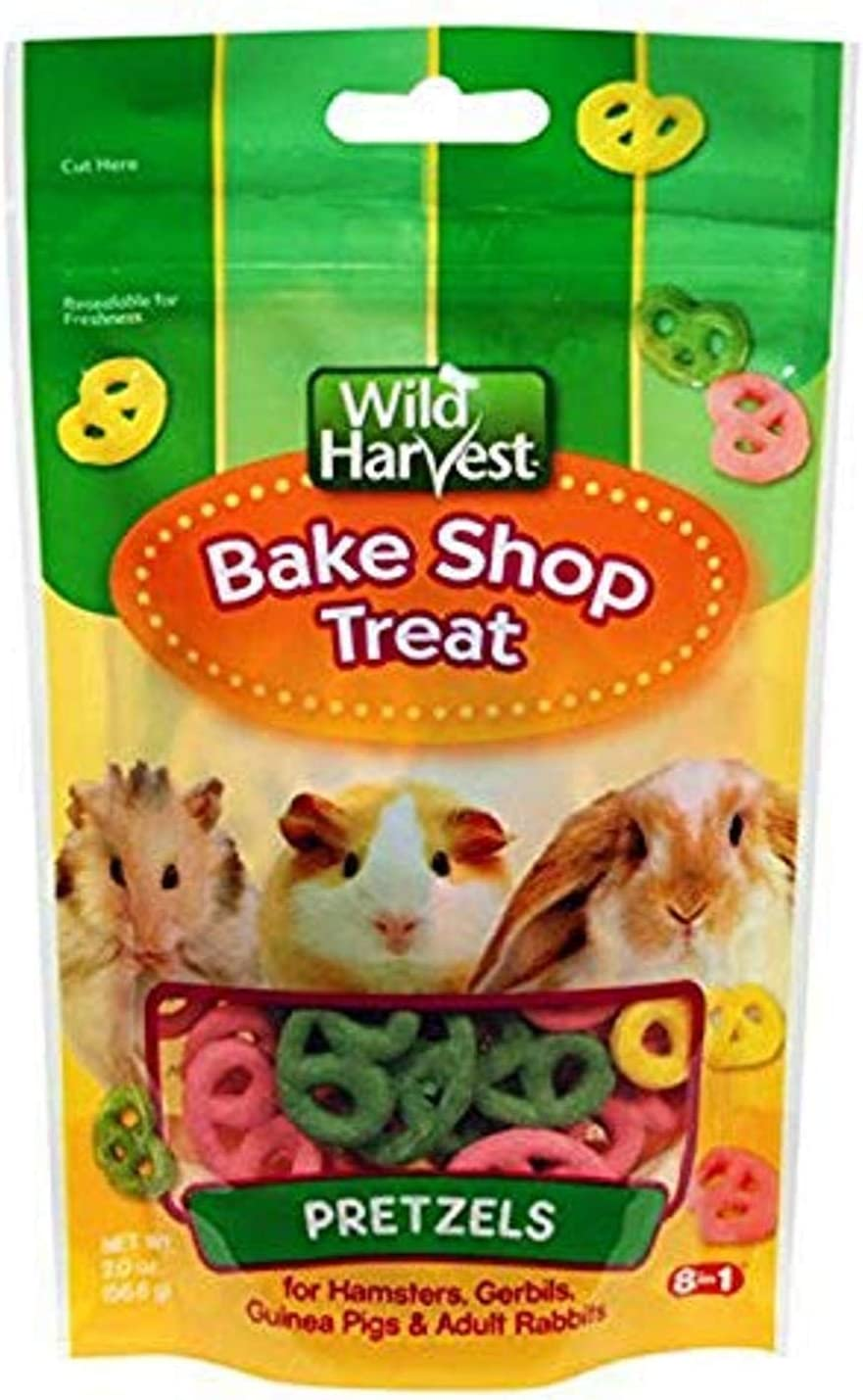 Wild Harvest Bake Shop Pretzel Treats For Small Animals, 2 Oz - P-84133