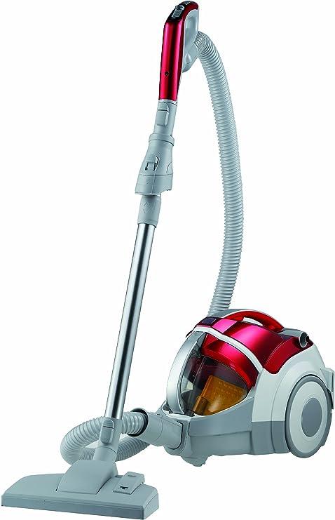 LG VK 9820 NHAQT - Aspirador de trineo sin bolsa (2000W, 2.2L, Filtro Hepa 13 Lavable, Accesorio cepillo para parket), color rojo: Amazon.es: Hogar