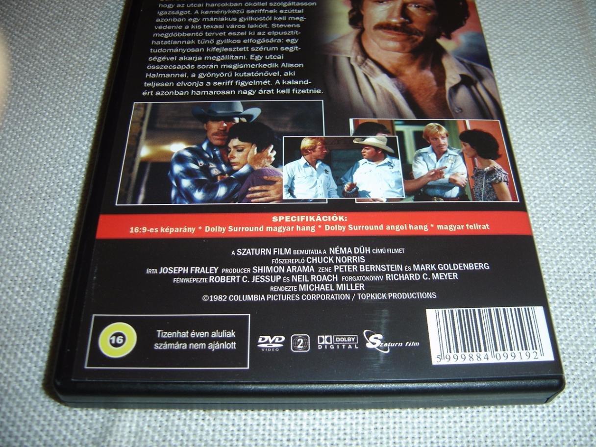 Néma düh 1982 Silent Rage / Chuck Norris / ENGLISH and ...
