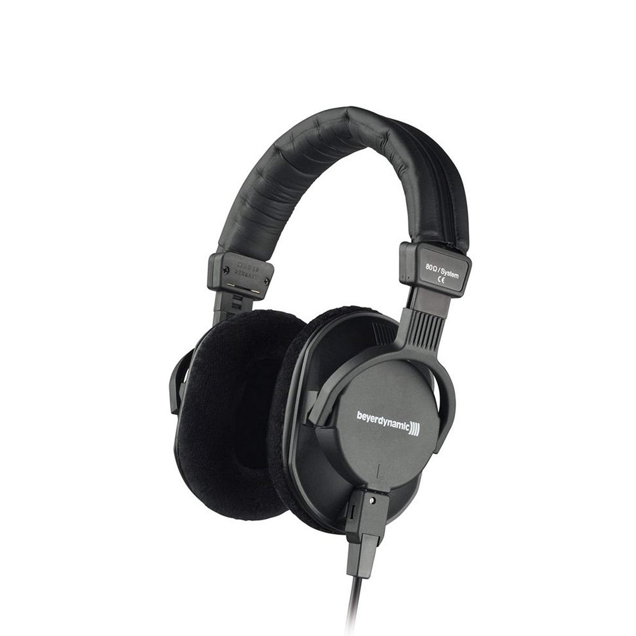 Beyerdynamic DT-250-250OHM Lightweight Closed Dynamic Headphone for Broadcast and Recording Applications, 250 Ohms
