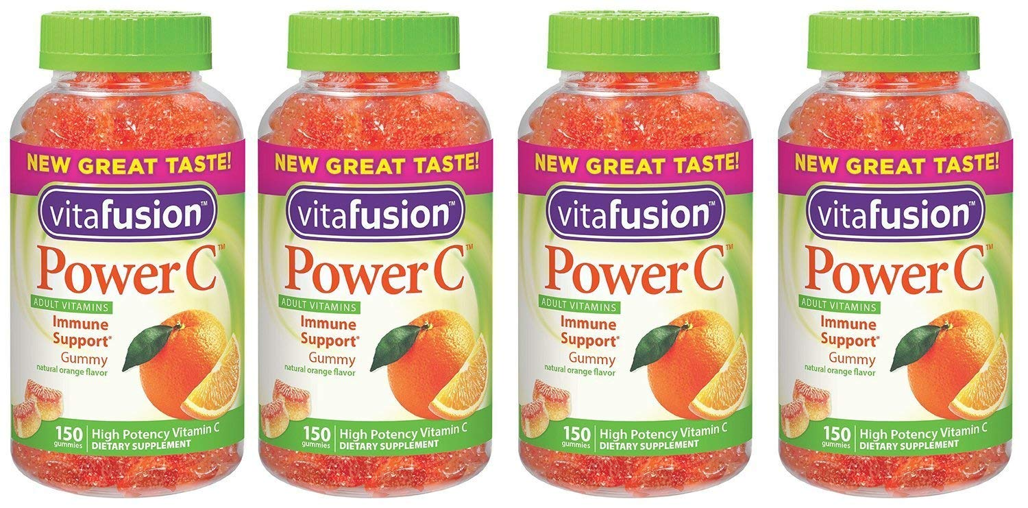 Vitafusion Power C, Gummy Vitamins For Adults (600ct)