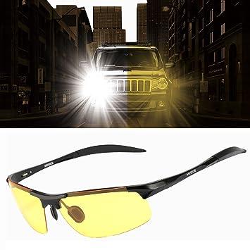 Gafas de conducción nocturnas HD antideslumbrantes, antireflectantes para conducir en días