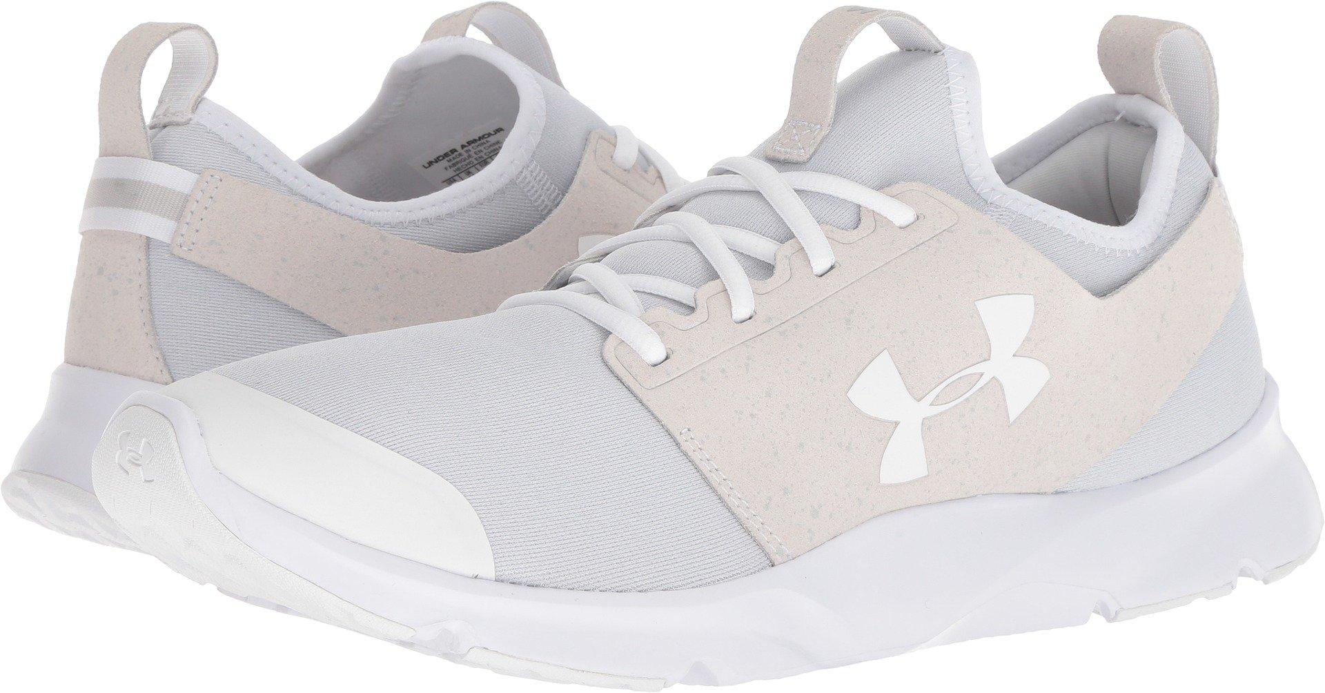 Under Armour Men's Drift RN Mineral Sneaker, White
